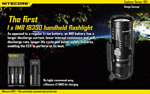 The first 1 x IMR18350 handheld flashlight