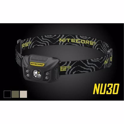 Nitecore NU30 LED Headlamp Black