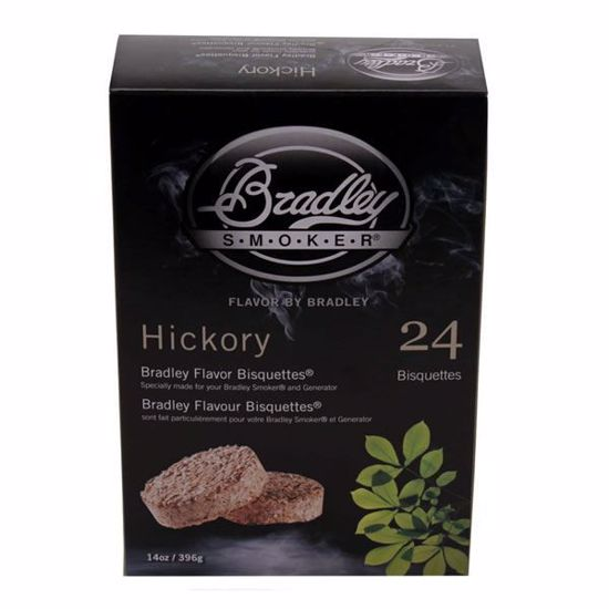 Bradley Technologies Smoker Bisquettes Hickory (24 Pack)