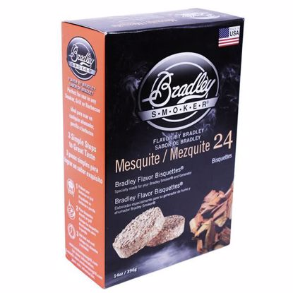 Bradley Technologies Smoker Bisquettes Mesquite (24 Pack)
