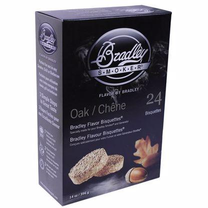 Bradley Technologies Smoker Bisquettes Oak (24 Pack)
