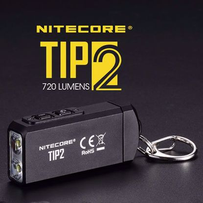 Nitecore TIP2 Rechargeable LED Keychain Flashlight