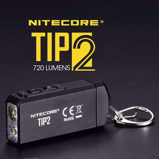Nitecore TIP2 Rechargeable LED Keychain Flashlight